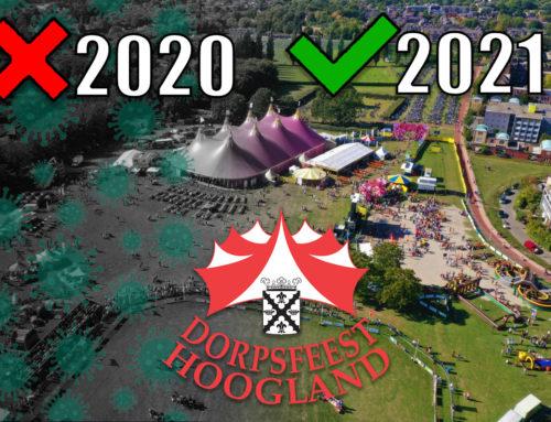 Geen Dorpsfeest Hoogland in 2020