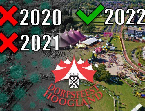 Dorpsfeest Hoogland 2021 Geannuleerd